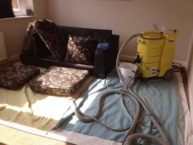 Upholstery cleaning in Oxford